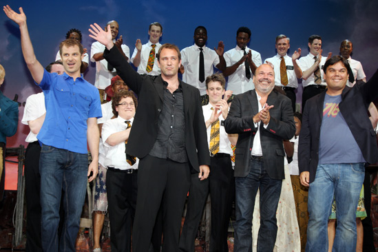 'Book of Mormon' LA Opening—Matt Stone—Trey Parker—Casey Nicholaw—Robert Lopez