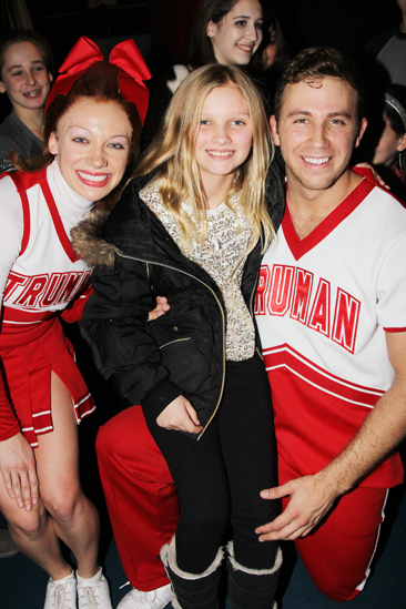 Rosie O'Donnell at 'Bring It On' — Courtney Corbeille — Vivienne O'Donnell — Dahlston Delgado