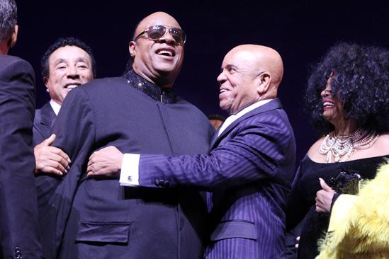 'Motown' Opening Night — Smokey Robinson — Stevie Wonder — Berry Gordy — Diana Ross