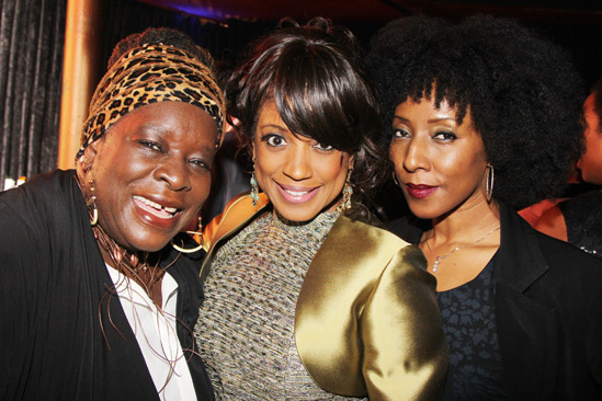 'Motown' Opening Night — Ebony Jo-Ann — Marva Hicks — Harriett D Foy