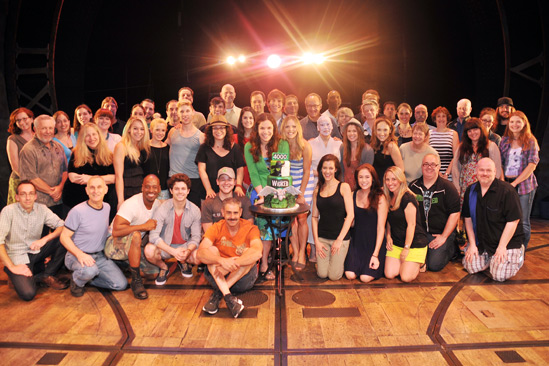 Wicked – 4,000 Performance- Cast- Company