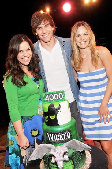Wicked – 4,000 Performance- Lindsay Mendez- Derek Klena- Katie Rose Clarke