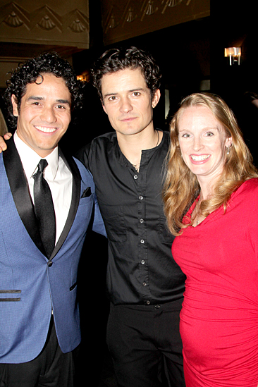 Romeo and Juliet – Opening Night – Adam Jacobs – Orlando Bloom – Kelly Jacobs
