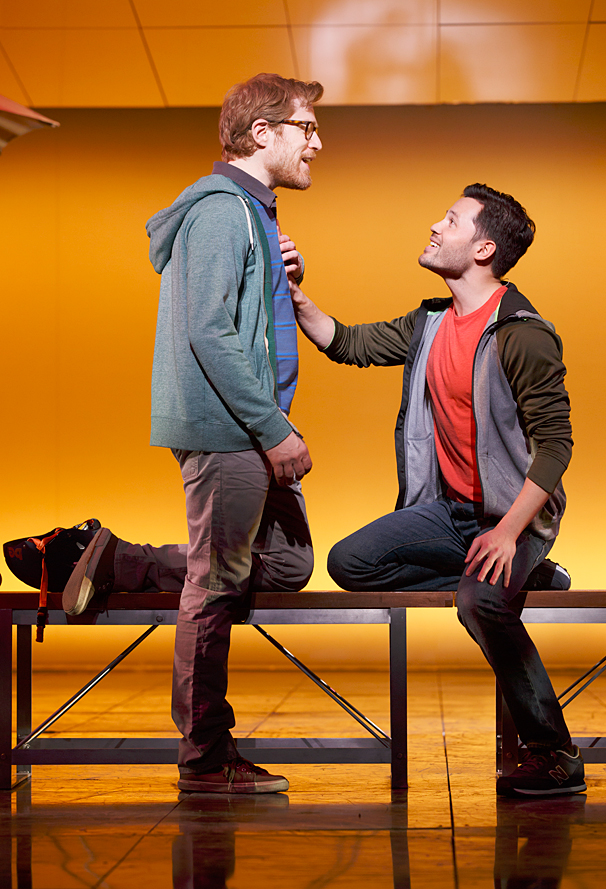 If/Then - Show Photos - PS - 3/14 - Anthony Rapp -  Jason Tam
