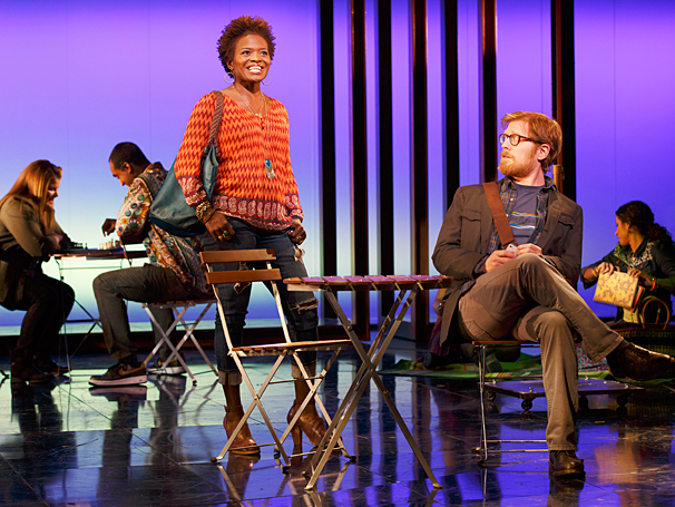 If/Then - Show Photos - PS - 3/14 - LaChanze - Anthony Rapp