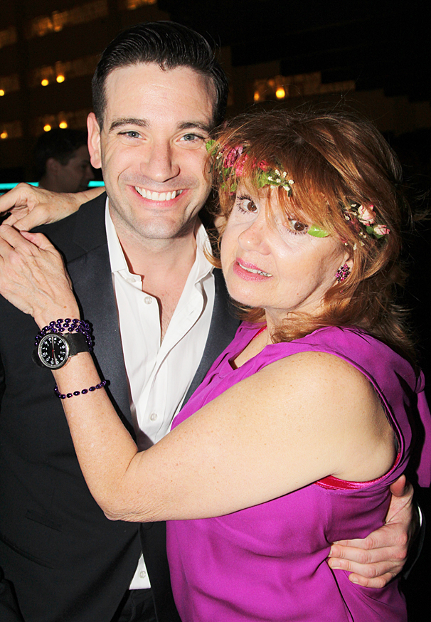 Violet Broadway opening - Colin Donnell - Annie Golden