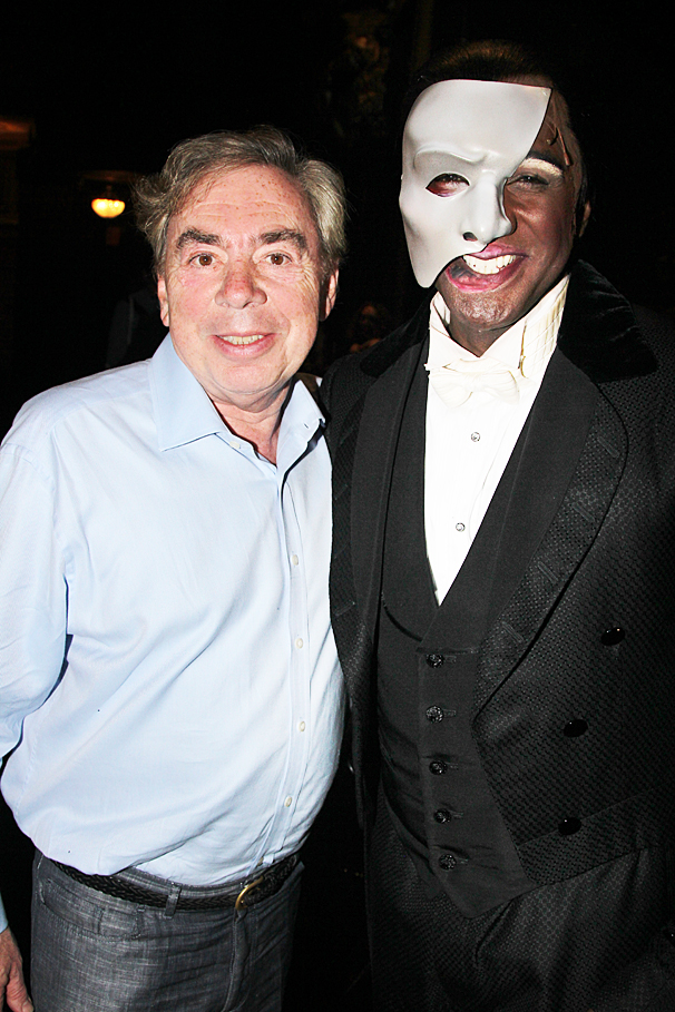 The Phantom of the Opera – Norm and Sierra first - OP – 5/14 - Andrew Lloyd Webber - Norm Lewis