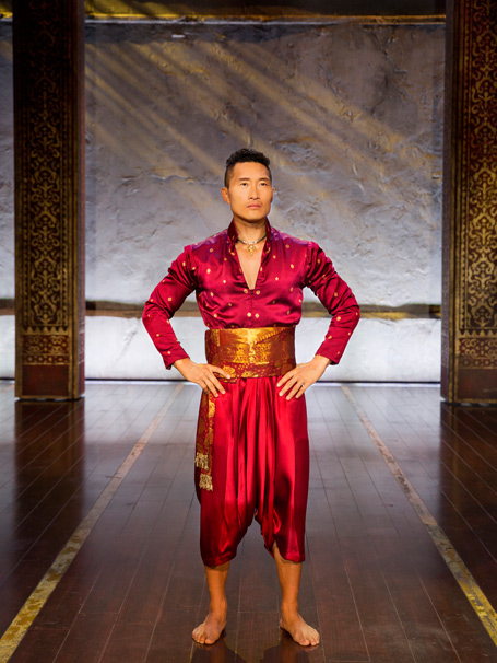 Show Photos - The King and I - 4/16 - Daniel Dae Kim