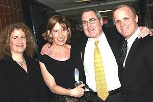 Drama Desk Awards 2005 - Julia Levy - Ellen Richard - Todd Haimes - Scott Ellis