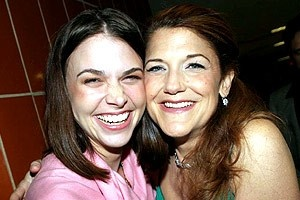 Drama Desk Awards 2005 - Sutton Foster - Victoria Clark