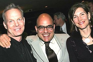 Drama Desk Awards 2005 - Bill Irwin - David Yazbek - wife