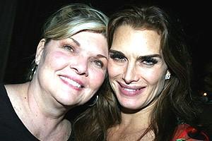 Brooke Shields Chicago Farewell Party - Debra Monk - Brooke Shields