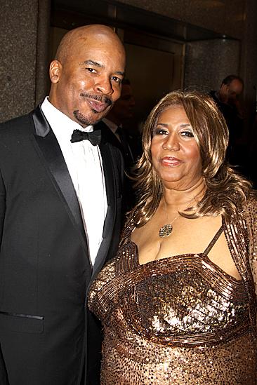 2010 Tony Awards Red Carpet – David Alan Grier – Aretha Franklin