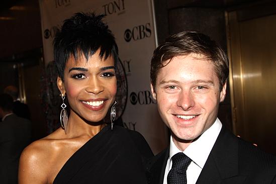 2010 Tony Awards Red Carpet – Michelle Williams – Bobby Steggert