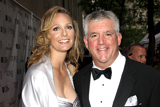 2010 Tony Awards Red Carpet – Julie Jbara – Greg Jbara