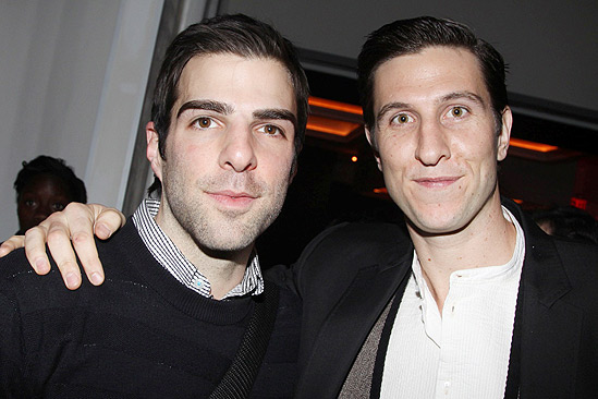 Merchant of Venice Opening night – Zachary Quinto – Pablo Schreiber