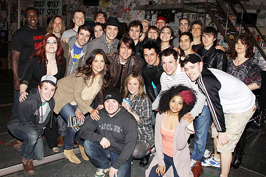 Tom Cruise at American Idiot – cast