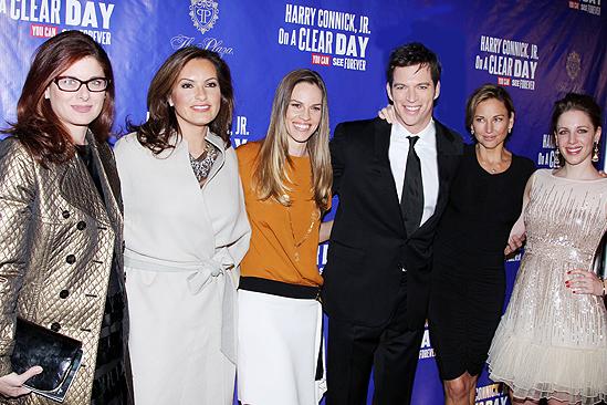 On a Clear Day – Opening – Debra Messing – Mariska Hargitay – Hilary Swank – Harry Connick Jr. – Jill Goodacre – Jessie Mueller