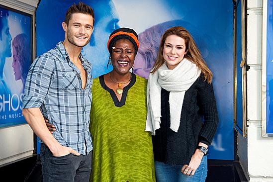 'Ghost' Casts Meet – Mark Evans – Sharon D Clarke – Siobhan Dillon