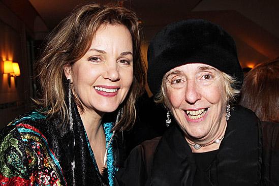 Cynthia Nixon Opening Night of Wit – Margaret Colin – Nancy Piccone