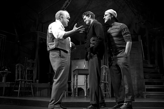 Death of a Salesman- Philip Seymour Hoffman and Andrew Garfield and Finn Wittrock