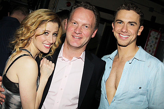 Ghost First Broadway Preview – Caissie Levy – producer Colin Ingram- Richard Fleeshman
