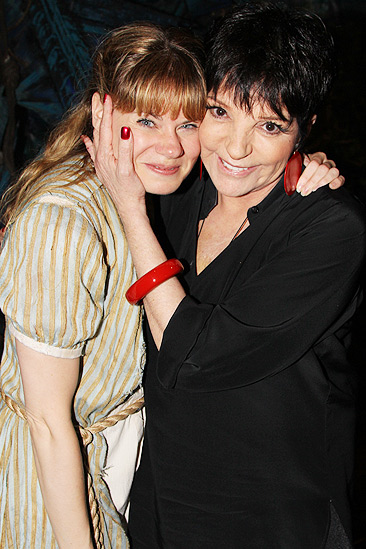Liza Minnelli and more at Peter and the Starcatcher – Celia Keenan-Bolger – Liza Minnelli