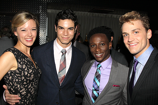 Bring It On Opening Night – Kate Rockwell – Jason Gotay - Gregory Haney – Neil Haskell