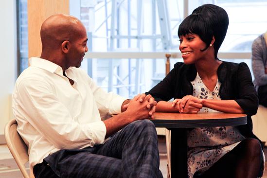 'Motown' Meet and Greet — Brandon Victor Dixon — Valisia LeKae