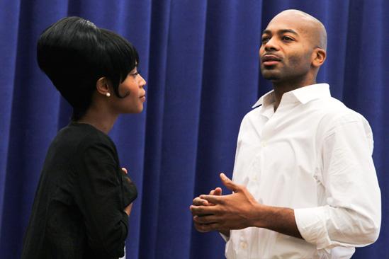 'Motown' Meet and Greet — Valisia LeKae — Brandon Victor Dixon