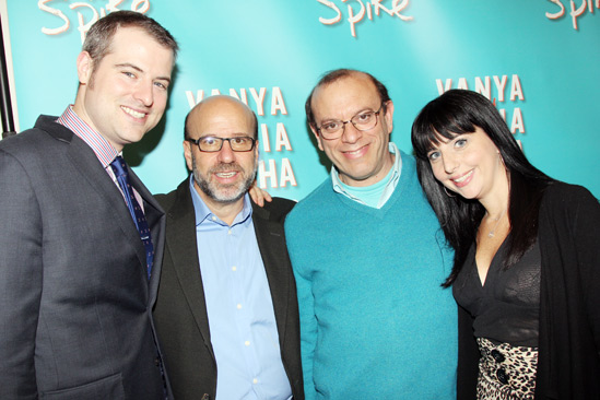 Vanya and Sonia Broadway Meet and Greet – John Johnson- Larry Hirschhorn- Joey Parnes- Sue Wagner