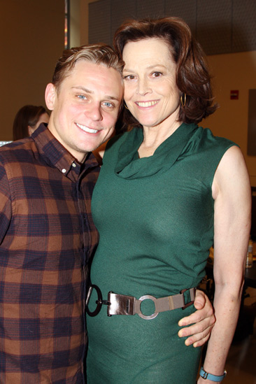 Vanya and Sonia Broadway Meet and Greet – Billy Magnussen – Sigourney Weaver