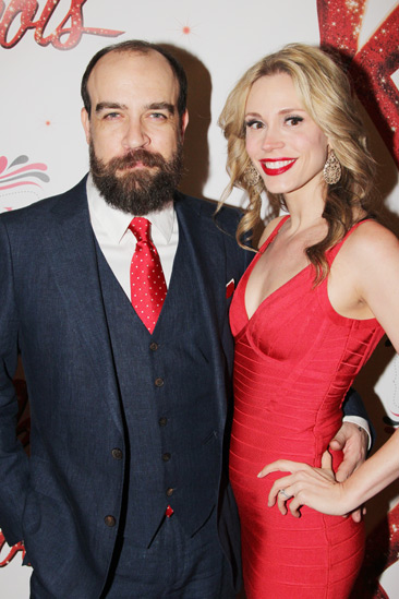 Kinky Boots Opening- Eric Anderson- Jessica Rush