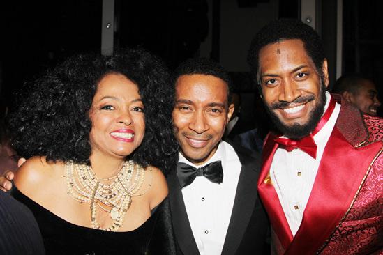 'Motown' Opening Night — Diana Ross — Charles Randolph-Wright — Bryan Terrell Clark