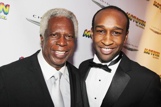 'Motown' Opening Night — Mickey Stevenson — Donald Webber Jr.