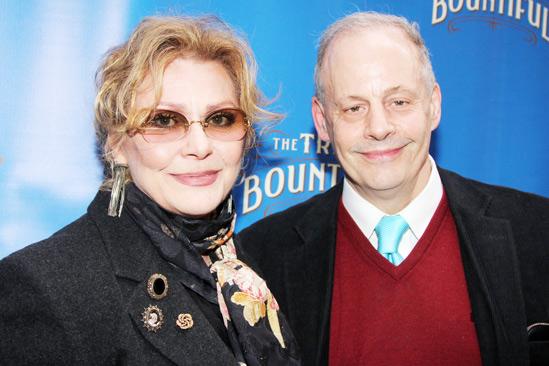The Trip to Bountiful – Opening Night – Elizabeth Ashley – Jeffrey Richards