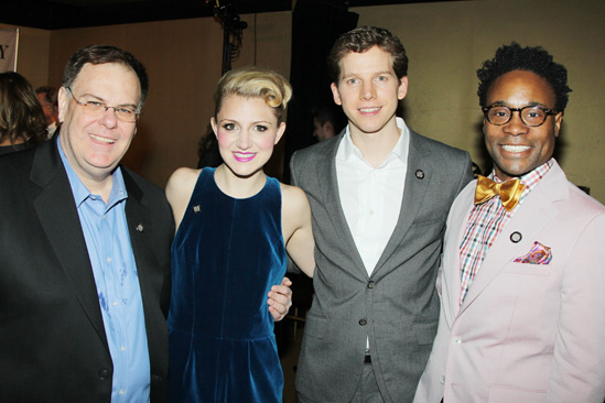 2013 Tony Nominee Brunch — Gregg Barnes — Annaleigh Ashford — Stark Sands — Billy Porter