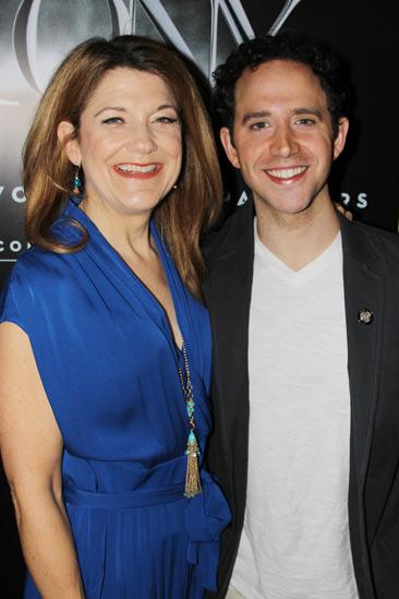 2013 Tony Nominee Brunch — Victoria Clark — Santino Fontana