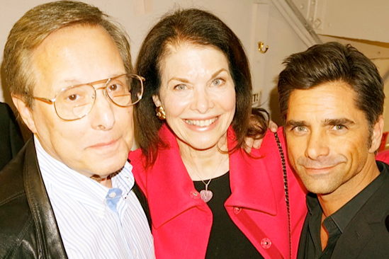 Courtney B. Vance Backstage at 'Lucky Guy' — Billy Friedkin — Sherry Lansing — John Stamos