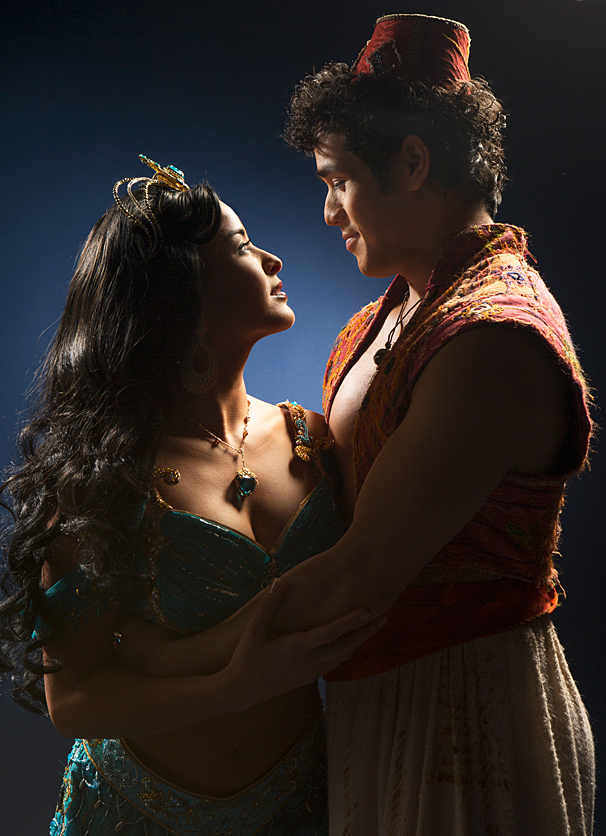 Aladdin - PS - Courtney Reed - Adam Jacobs
