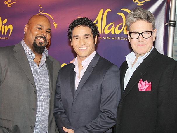 Aladdin - Meet and Greet - OP - James Monroe Iglehart - Adam Jacobs - Jonathan Freeman