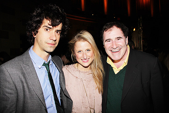 Arcadia opens - Hamish Linklater -Mamie Gummer - Richard Kind