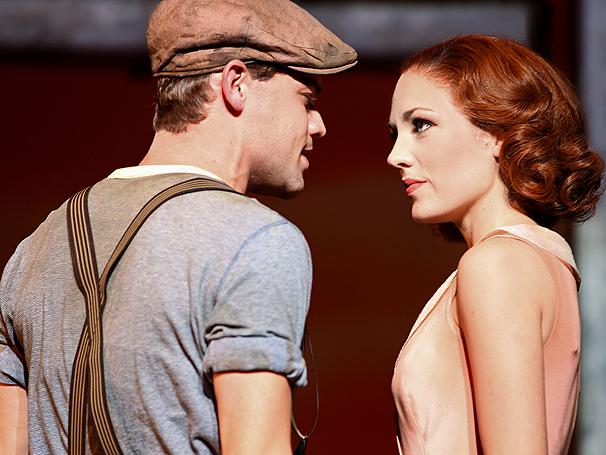 Show Photos - Bonnie & Clyde - Jeremy Jordan - Laura Osnes