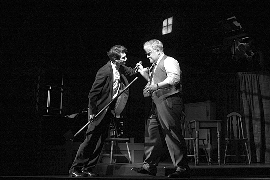 Death of a Salesman - Philip Seymour Hoffman and Andrew Garfield
