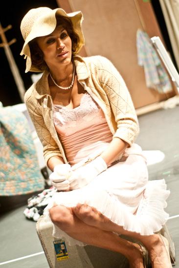 Streetcar Named Desire rehearsal – Nicole Ari Parker
