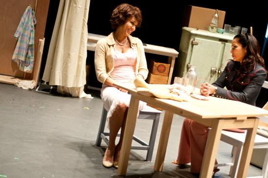 Streetcar Named Desire rehearsal – Nicole Ari Parker – Daphne Rubin-Vega