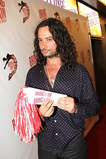 Bring It On Opening Night – Constantine Maroulis