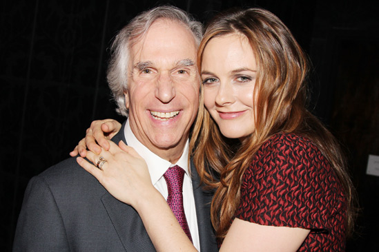 The Performers - opening night - Henry Winkler - Alicia Silverstone