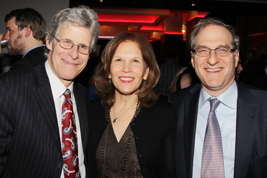 The Performers – opening night – Ted Chapin – Ruth Hendel – Stephen Hendel