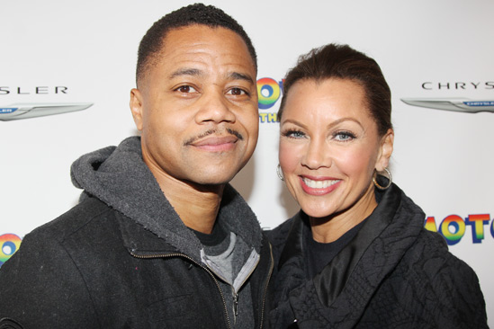 'Motown' Opening Night — Cuba Gooding Jr. — Vanessa Williams